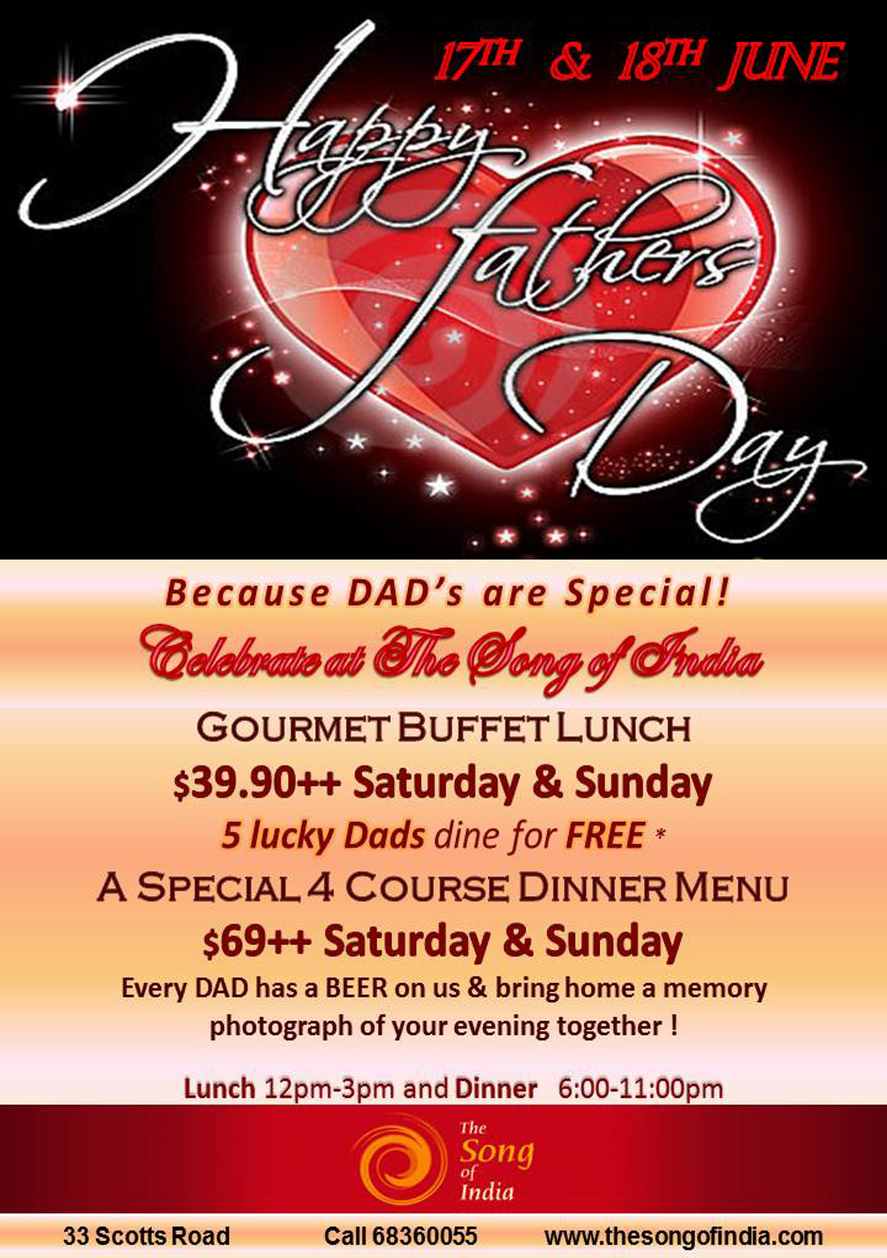 father'S DAY SPECIAL 2017
